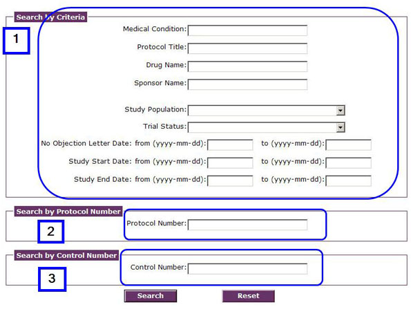 Clinical Trial Database Search Engine