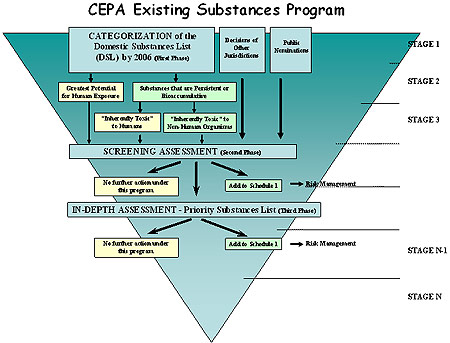 CEPA Existing Substances Program