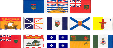 Provinces flags