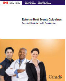 Extreme Heat Events Guidelines: Technical Guide for Health Care Workers