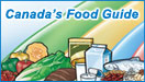 Canada's Food Guide banner 132 x 75 pixels