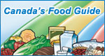 Canada's Food Guide banner 150 x 80 pixels