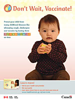 Don't Wait, Vaccinate! - Inuit English Print-Ad Cover