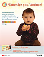 N'attendez-pas, Vaccinez! - Inuit English Print-Ad Cover