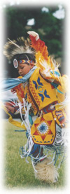 Picture of ceremonial dancer