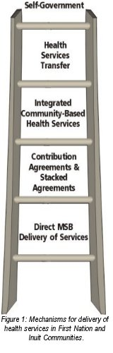 Figure 1: Mechanisms for delivery of health services