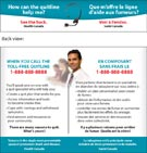 How can the quitline help me? See the back. Health Canada