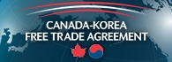 Canada-Korea Free Trade Agreement (external link)