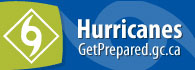 A hurricane - GetPrepared.gc.ca (external link)