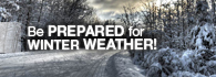 Winter Severe Weather. Be Prepared. (external link)